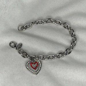 COOKIE LEE Bracelet | Crystal Hearts